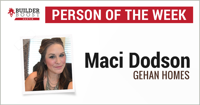 Person of the Week: Maci Dodson