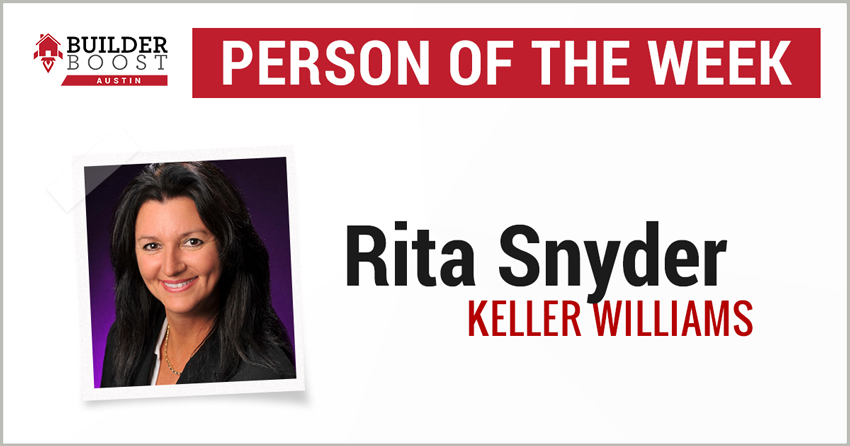 Person of the Week: Rita Snyder