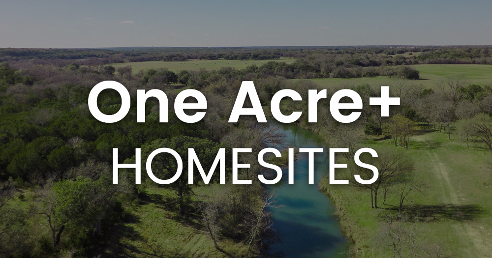 Large Homesites