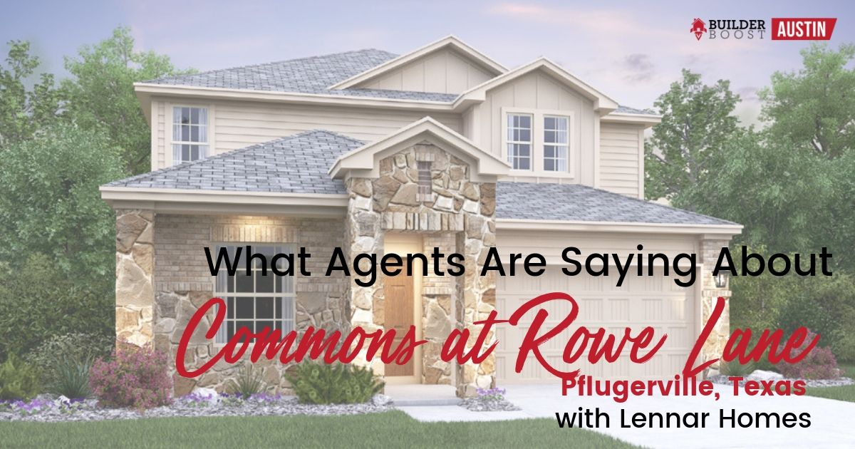MISSION: Commons at Rowe Lane with Lennar Homes — Builder