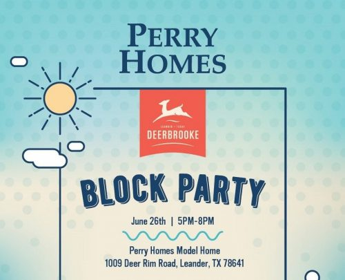 Perry Homes | Block Party @ Block Party | Texas | United States