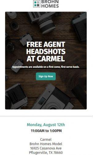 Brohn Homes   Free Agent Headshots @ Carmel   Pflugerville   Texas   United States
