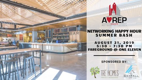 Austin Young Real Estate Professionals | Networking Happy Hour Summer Bash @ Fareground at One Eleven | Austin | Texas | United States