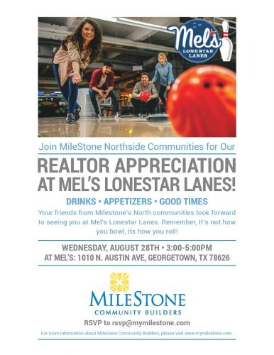 MileStone Community Builders   Realtor Appreciation @ Mel's Lonestar Lanes   Georgetown   Texas   United States