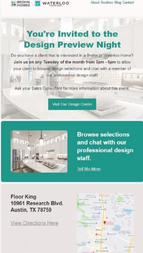 Brohn Homes | Design Preview Night @ Floor King | Austin | Texas | United States