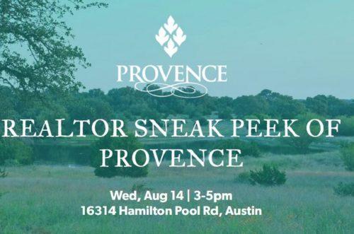 Brookfield Residential   Realtor Sneak Peak @ Provence   Austin   Texas   United States