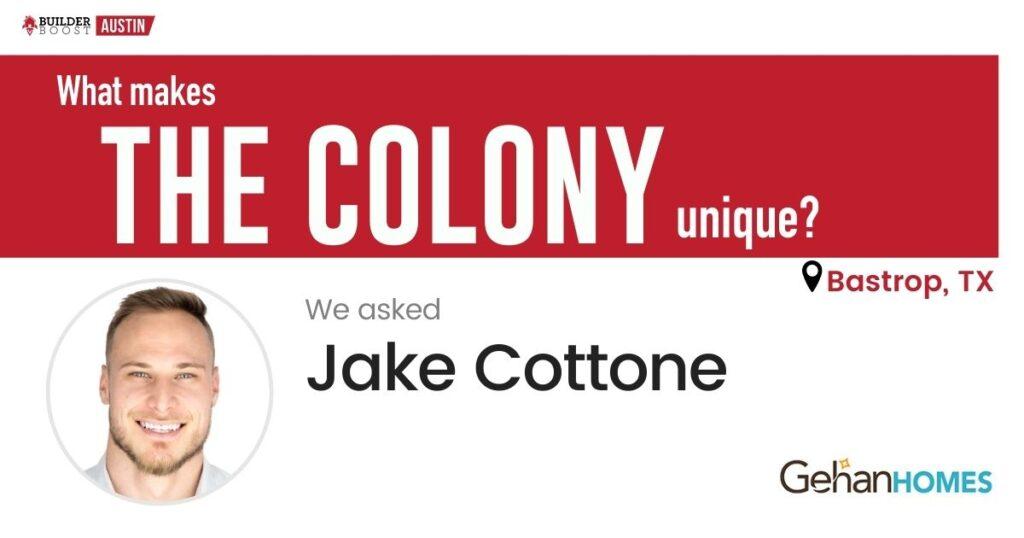 Q&A AUS Community - Jake Cottone_The Colony image
