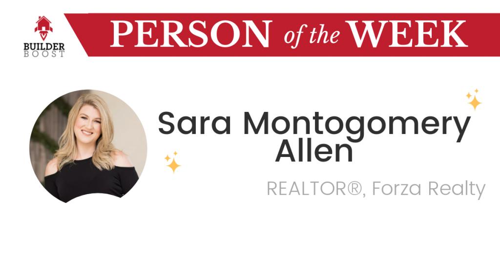 Person of the Week Sara Montgomery Allen