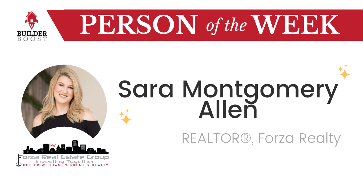 Person of the Week Sara Montgomery Allen
