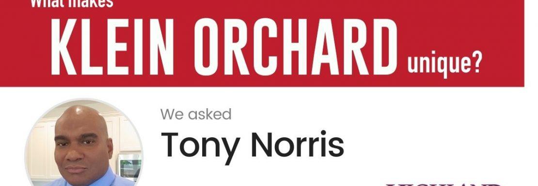 Q&A HOU Community - Tony Norris