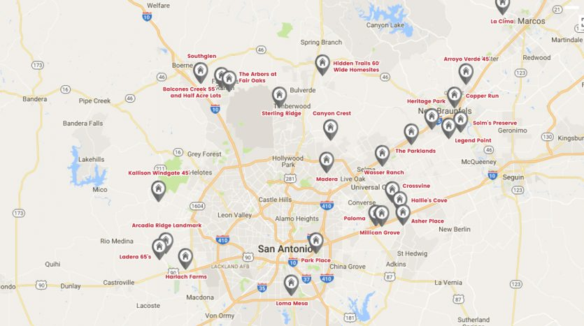 San Antonio's New & Notable Communities