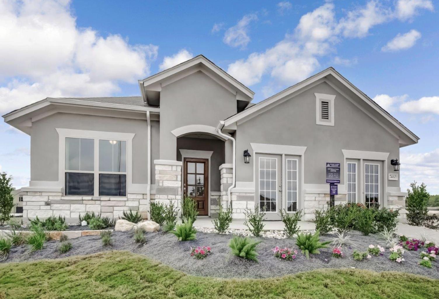 Century Communities Model Home Exterior Builder Boost San Antonio