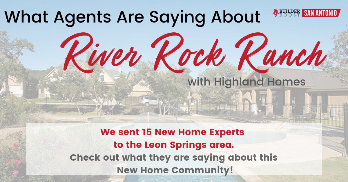 What Agents are Saying About River Rock Ranch