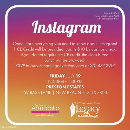 Armadillo Homes & Legacy Mortgage | Instagram @ Preston Estates | New Braunfels | Texas | United States