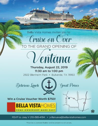 Bella Vista Homes | Ventana Grand Opening @ Ventana | Spring Branch | Texas | United States