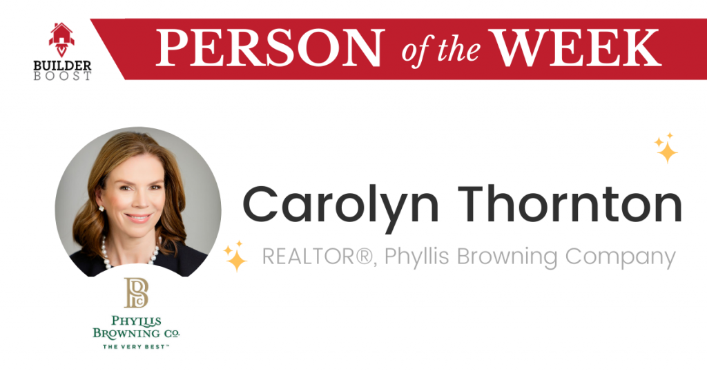 Person of the Week Carolyn Thornton