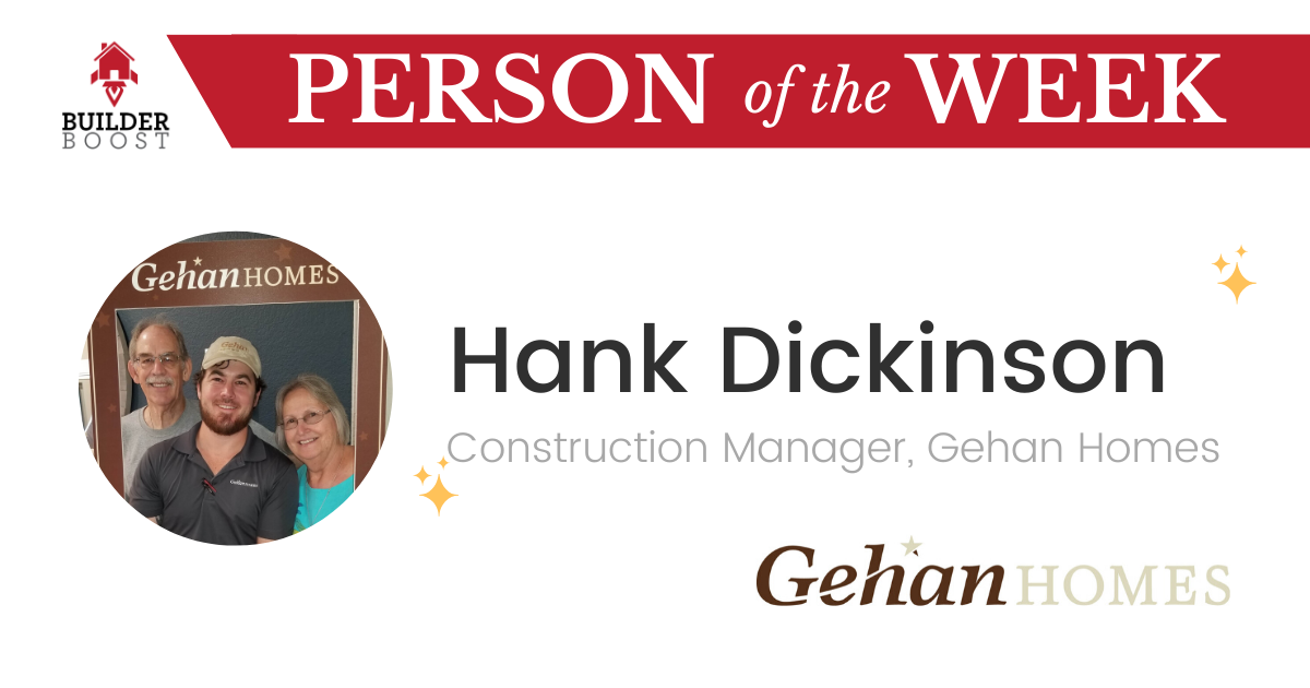 Person of the Week Hank Dickinson