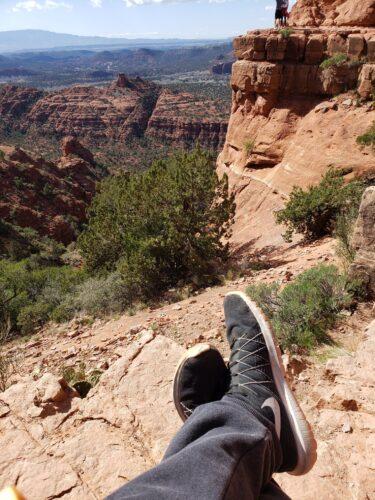 oscar - hiking image